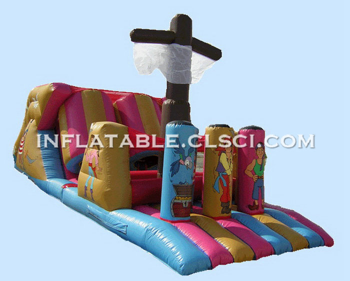 T7-196 Inflatable Obstacles Courses