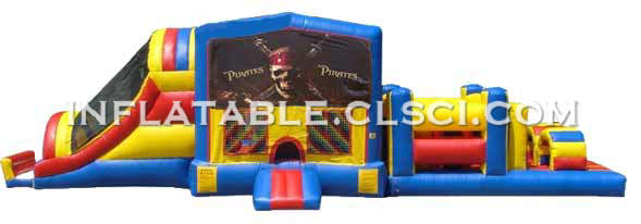 T7-285 Inflatable Obstacles Courses