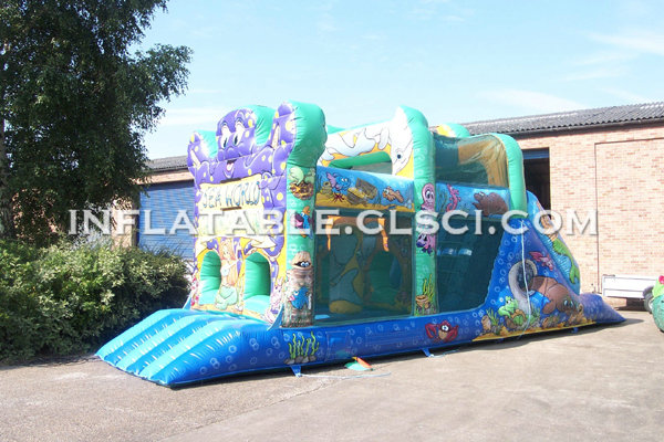 T7-327 Inflatable Obstacles Courses