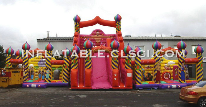 T7-338 Inflatable Obstacles Courses