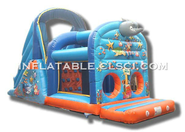 T7-355 Inflatable Obstacles Courses