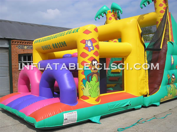 T7-356 Inflatable Obstacles Courses