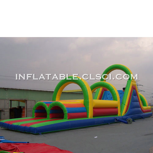 T7-414 Inflatable Obstacles Courses