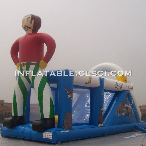 T7-458 Inflatable Obstacles Courses