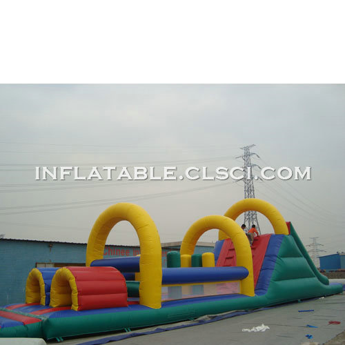 T7-493 Inflatable Obstacles Courses