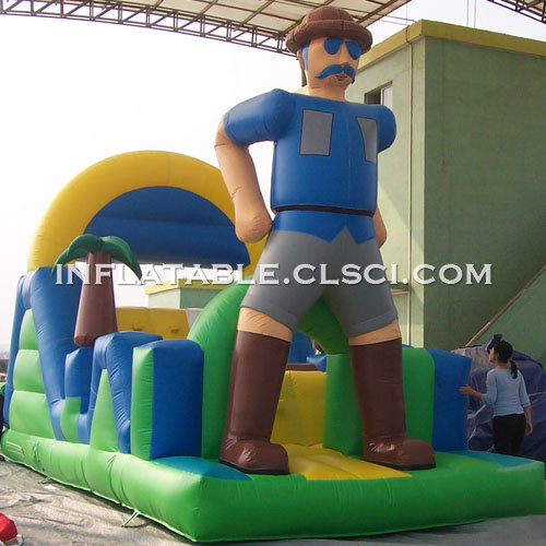 T7-499 Inflatable Obstacles Courses