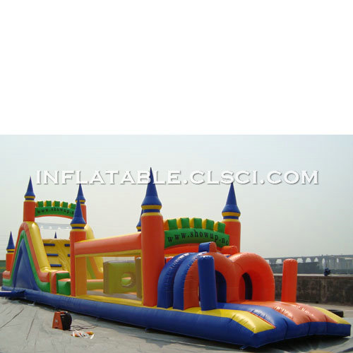 T7-500 Inflatable Obstacles Courses