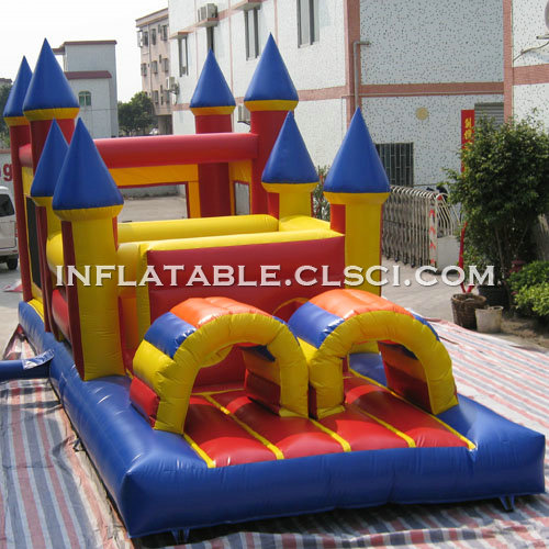 T7-524 Inflatable Obstacles Courses