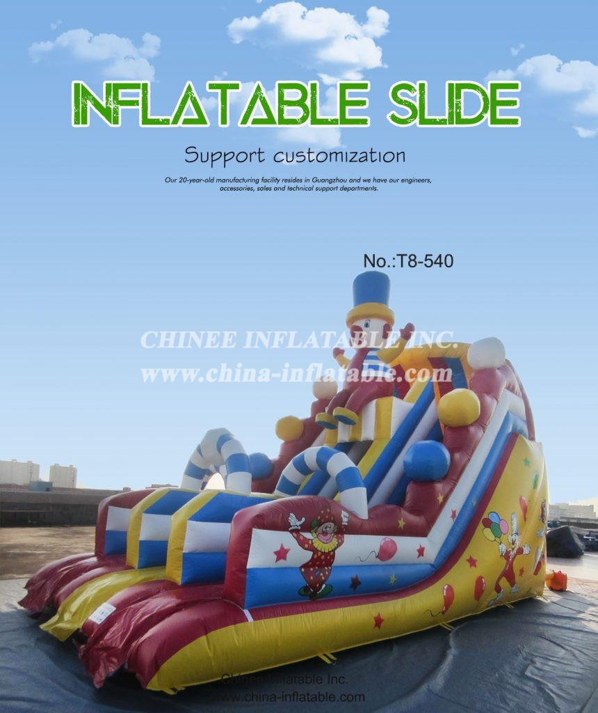 t8-540 - Chinee Inflatable Inc.