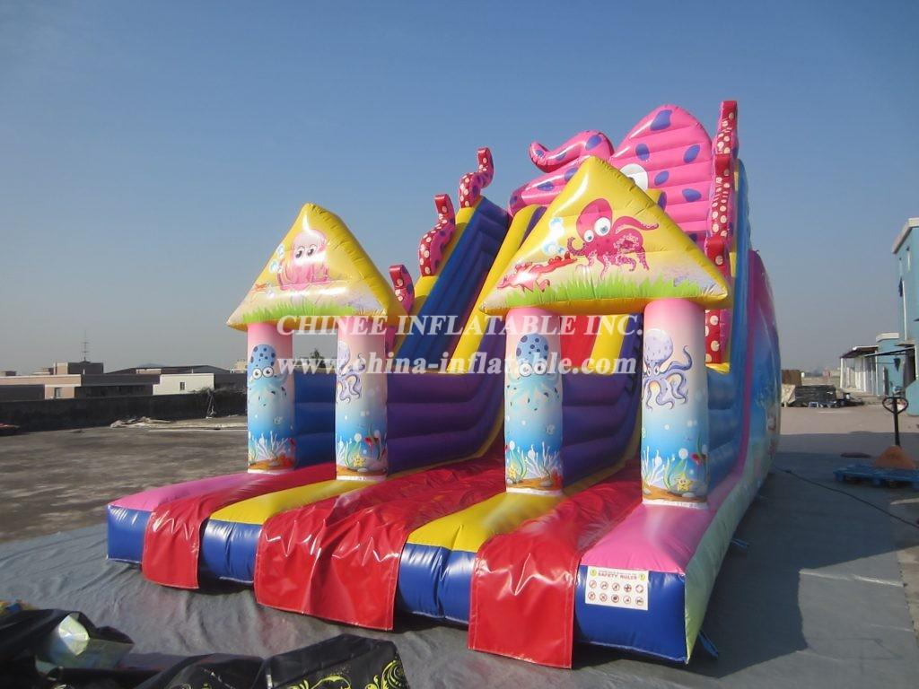T8-1522 inflatable slide