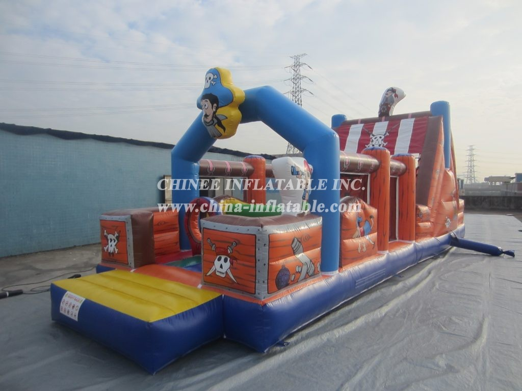 T7-568 obstacle course