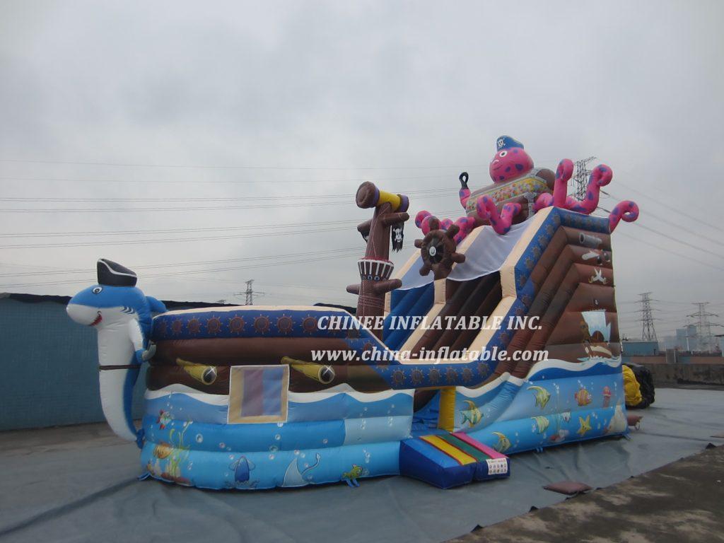 T8-1481 inflatable slide
