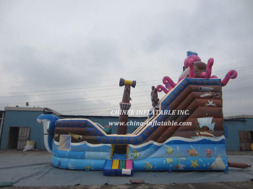 T8-1481 inflatable slide