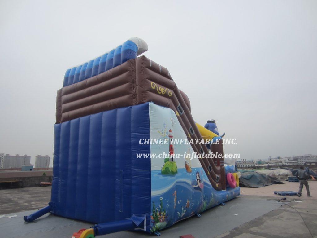 T8-1484 inflatable slide