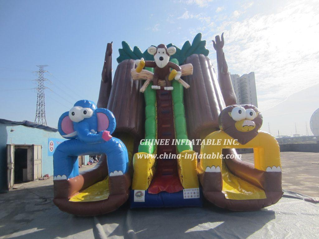 T8-1451 inflatable slide