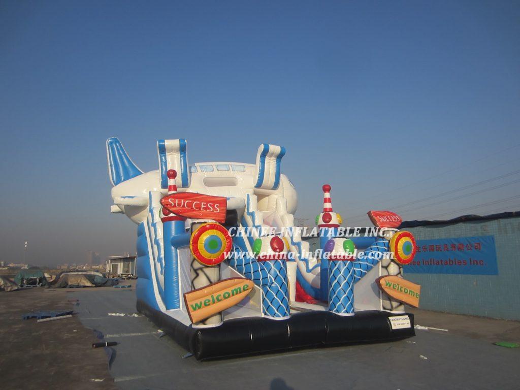 T8-1464 inflatable slide