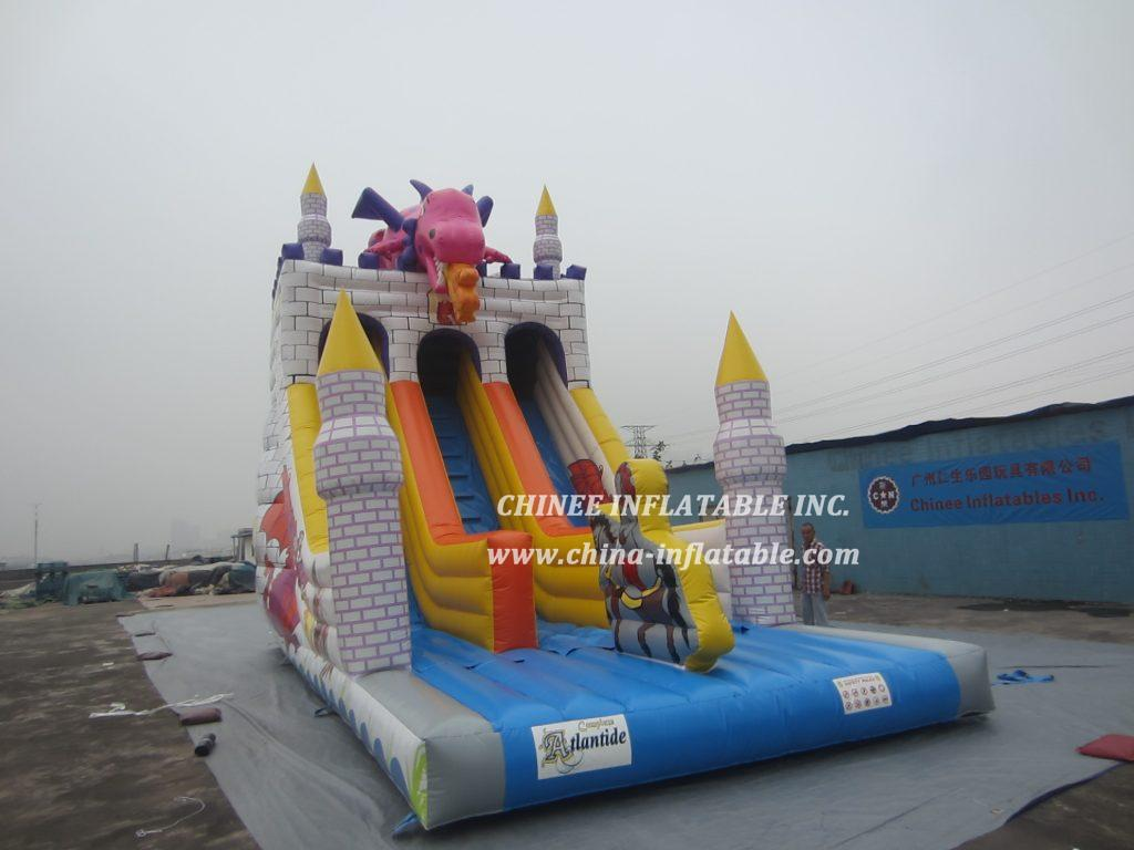 T8-1517 inflatable slide