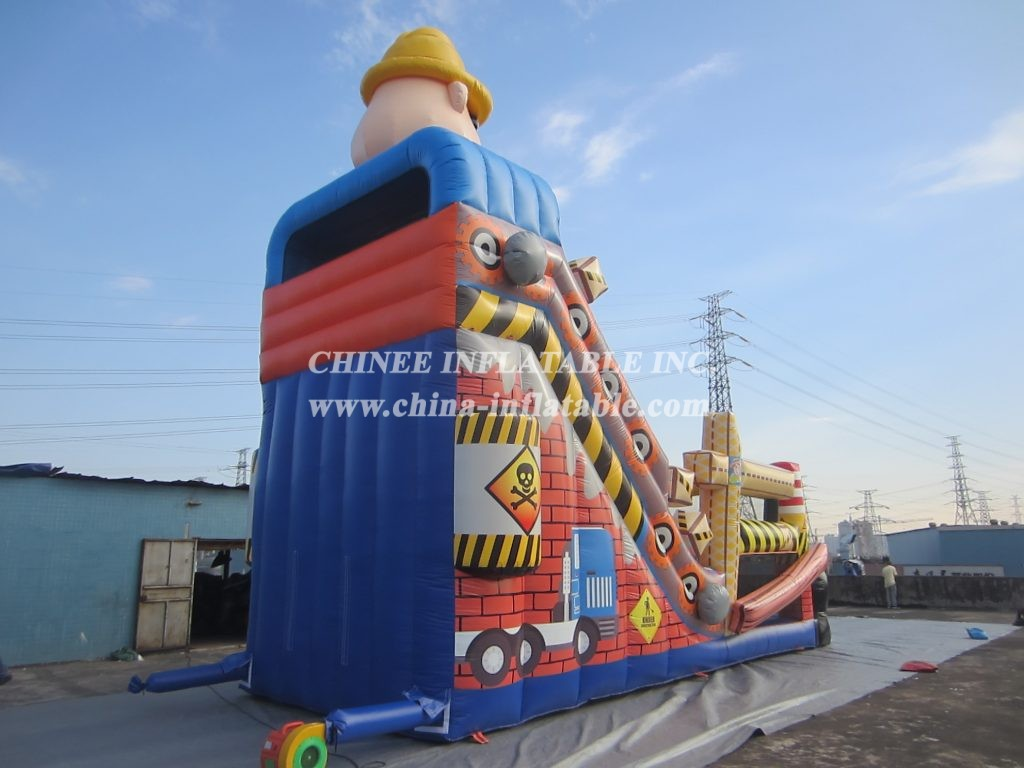 T8-1497 inflatable slide