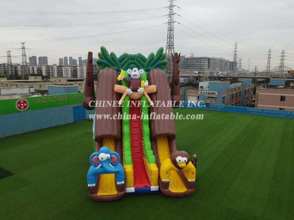 T8-1451 inflatable slide
