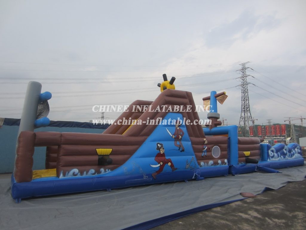 T7-569 obstacle course
