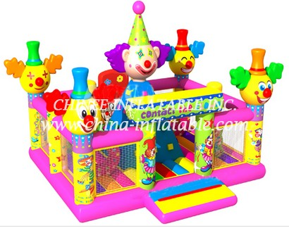 T2-3325 bouncy castle