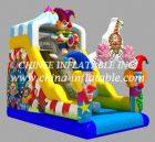 T8-1439 inflatable  slide