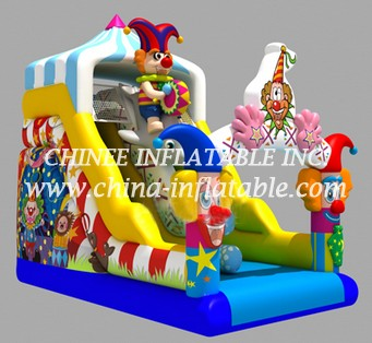 T8-1439 inflatable  slide