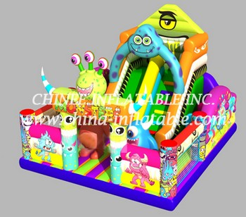 T8-1440 inflatable slide