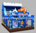 T8-1441 inflatable slide