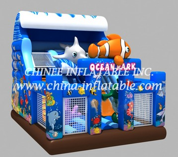 T8-1441 inflatable slide