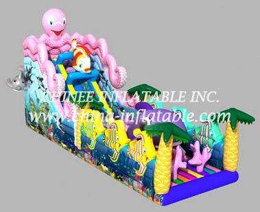 T8-1442 inflatable slide