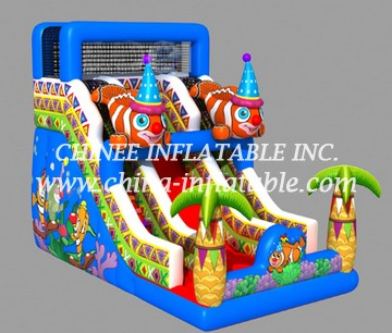 T8-1443 inflatable slide