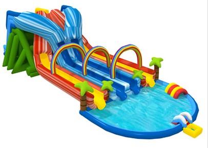 T8-1445 inflatable slide