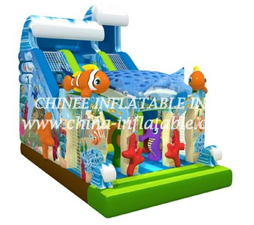 T8-1447 inflatable slide