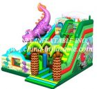 T8-1455 inflatable slide
