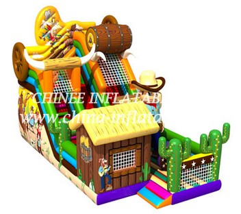 T8-1458 inflatable slide