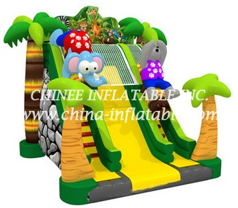 T8-1459 inflatable slide