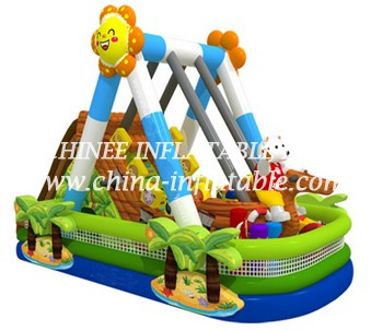 T8-1463 inflatable slide