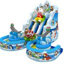 T8-1466 inflatable slide