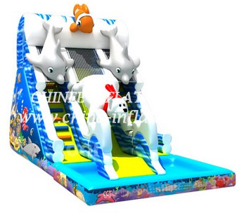 T8-1471 inflatable slide