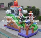 T8-1473 inflatable slide
