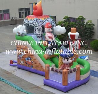 T8-1473 inflatable slide