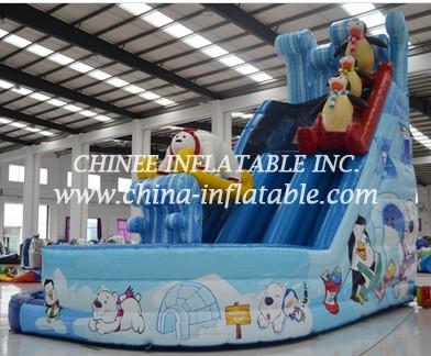 T8-1475 inflatable slide