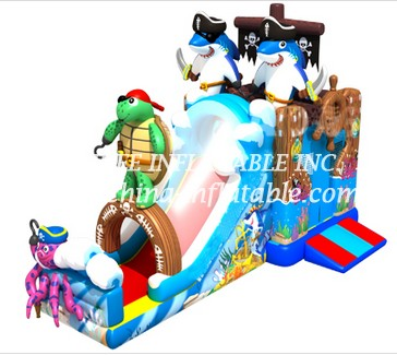 T8-1478 inflatable slide
