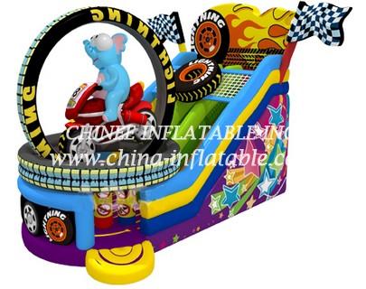 T8-1482 inflatable slide