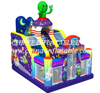 T8-1485 inflatable slide