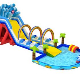 T8-1488 inflatable slide