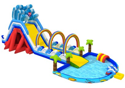 T8-1488 inflatable slide