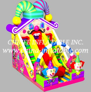 T8-1489 inflatable slide