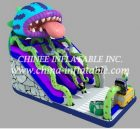 T8-1490 inflatable slide
